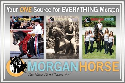The Morgan Horse, the official journal of the breed for 75 years